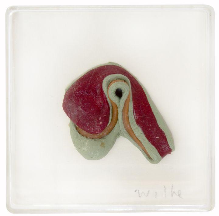 Hannah Wilke  Untitled (Single Gum Sculpture), c. 1984