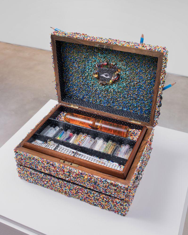 Lucas Samaras, Box #132, 1989