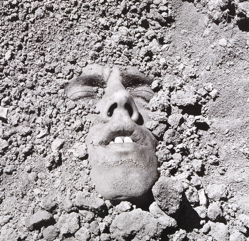 David Wojnarowicz, Untitled (Face in Dirt), 1991/2018