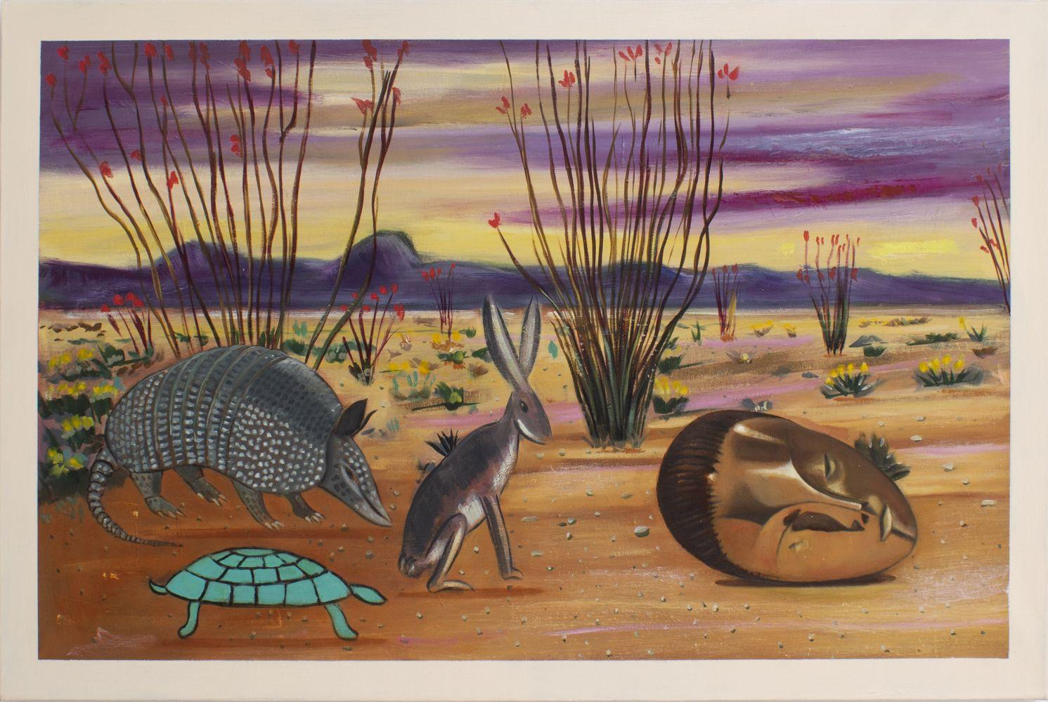 Raul Guerrero  Ocotillo in Bloom on the Desert, 2020