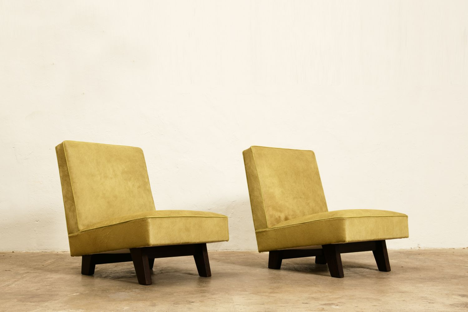 "Le Corbusier, Pierre Jeanneret and Jeet Lal Malhotra - ""Chief Justice"" three-piece suite"