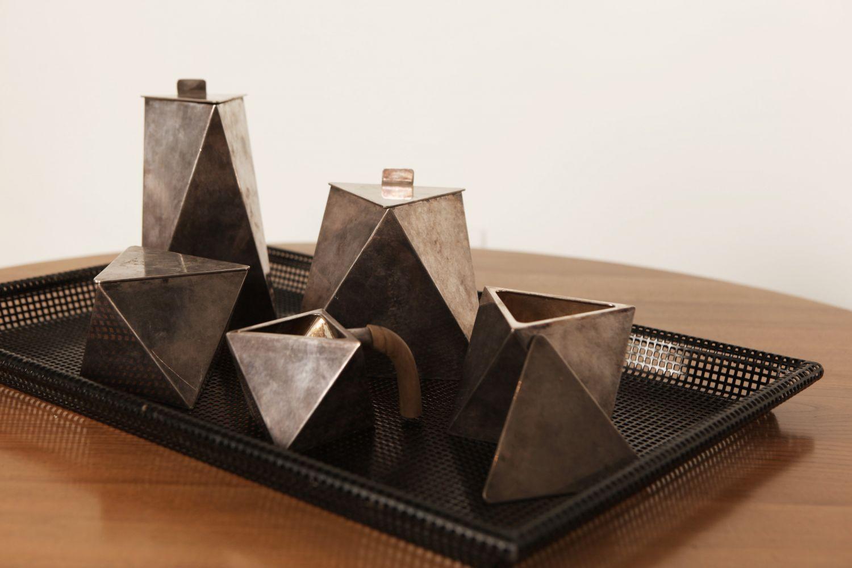 Unknown artist - Modernist tea set, c. 1930-40
