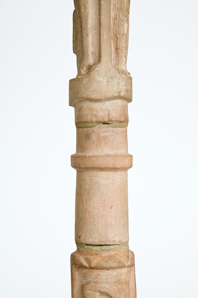 Pierre Blanc's floor lamp, detailed view of stand