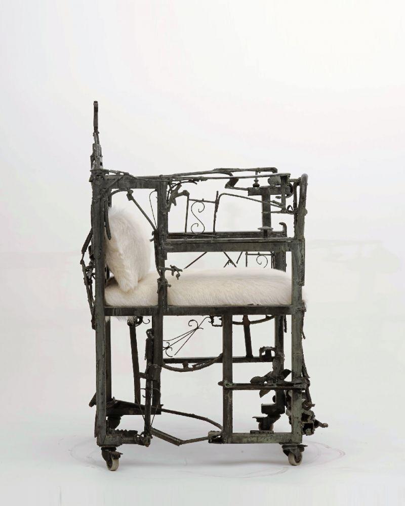 Sylvain Contini - Sculptural armchair, c. 1960