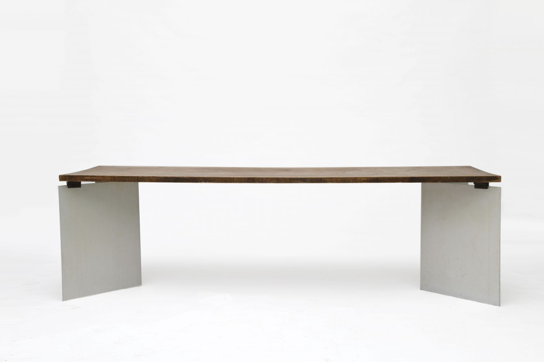 "Jean Paul Barray - ""Hommage à Le Corbusier - Chandigarh"" table, 1965"