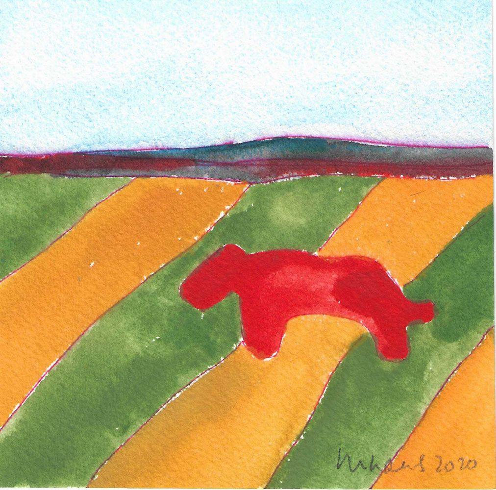 Image of Bobcat and Fields I