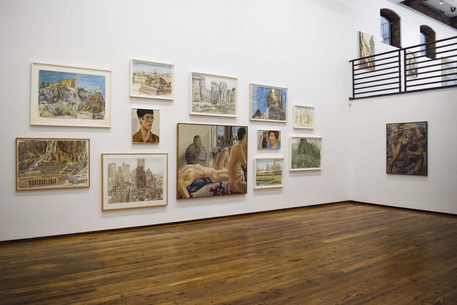 Philip Pearlstein Installation Photograph