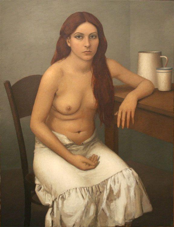 Image of Girl in White Skirt