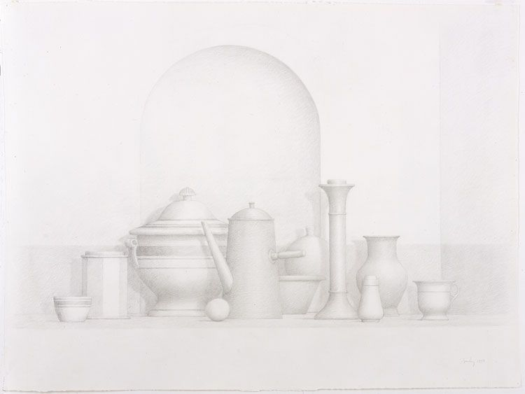 Image of STILL LIFE WITH NICHE
