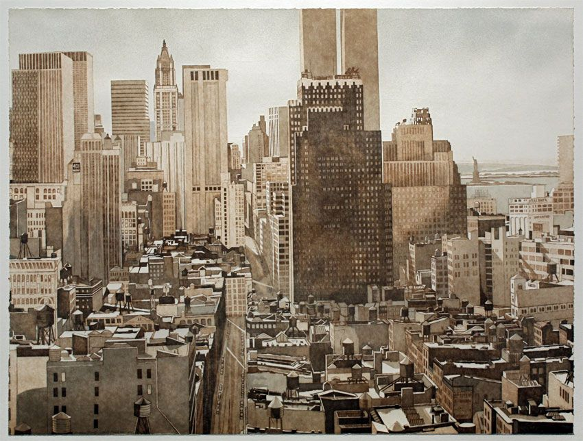 Image of View Over Soho Manhattan