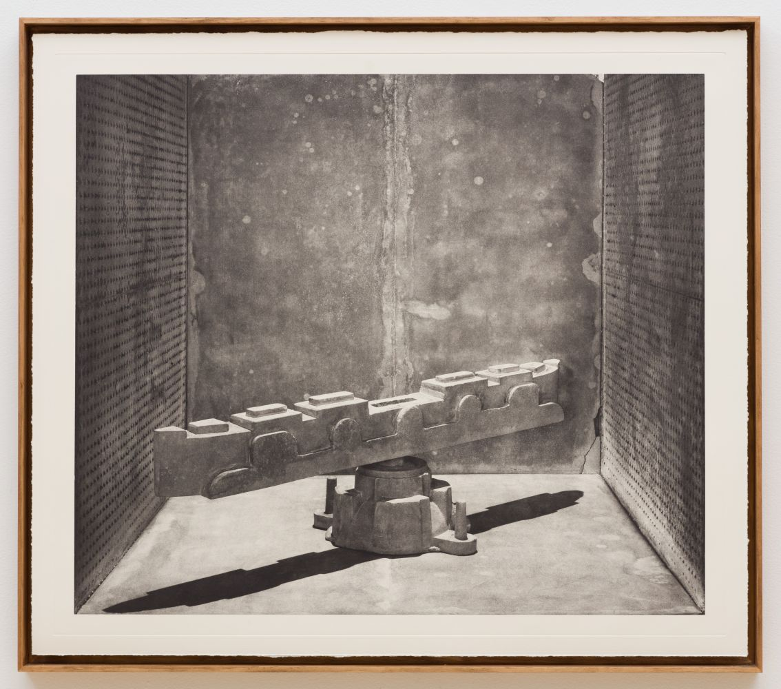 Stature photogravure No. 8 by Rodrigo Valenzuela