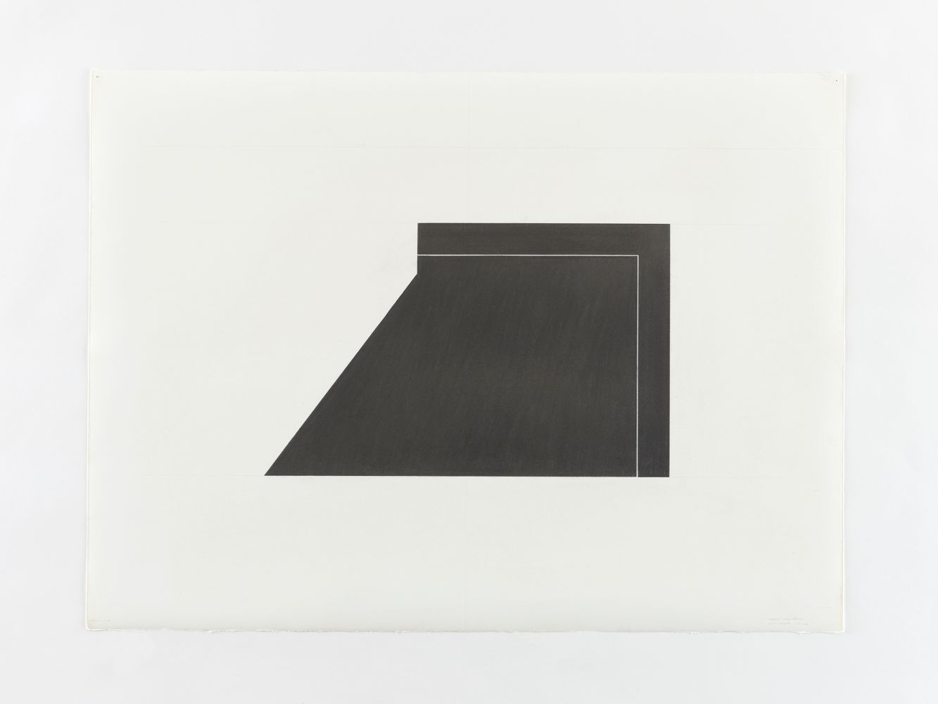 Ted Stamm 78-W-2E (Wooster), 1978 graphite on paper 22 1/4 x 29 7/8 inches