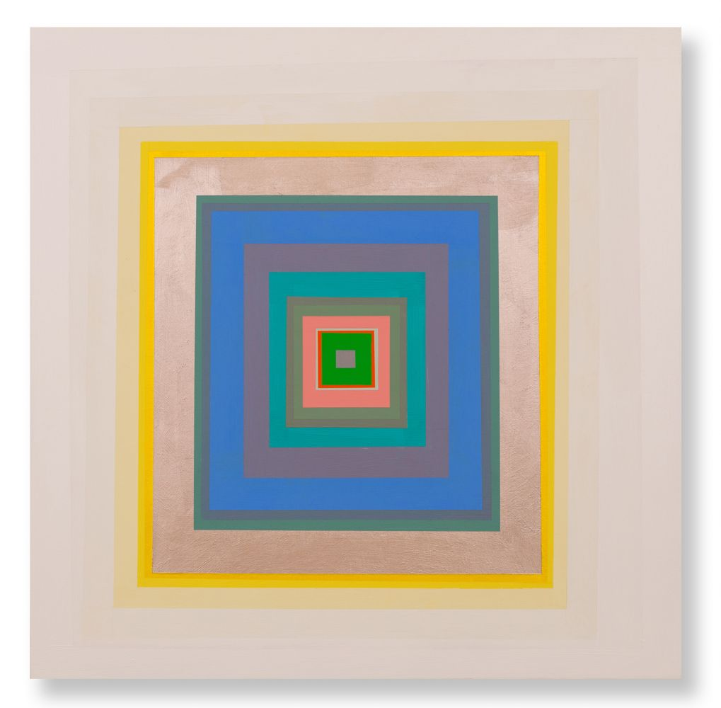 Gary Lang  CONCENTRICSQUARE, 2020  acrylic on panel  30 x 30 inches  $35,000