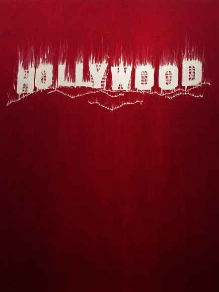 GARY SIMMONS Hollywood, 2013 UV pigment print on aluminum core 48 x 36 inches 2 of 15