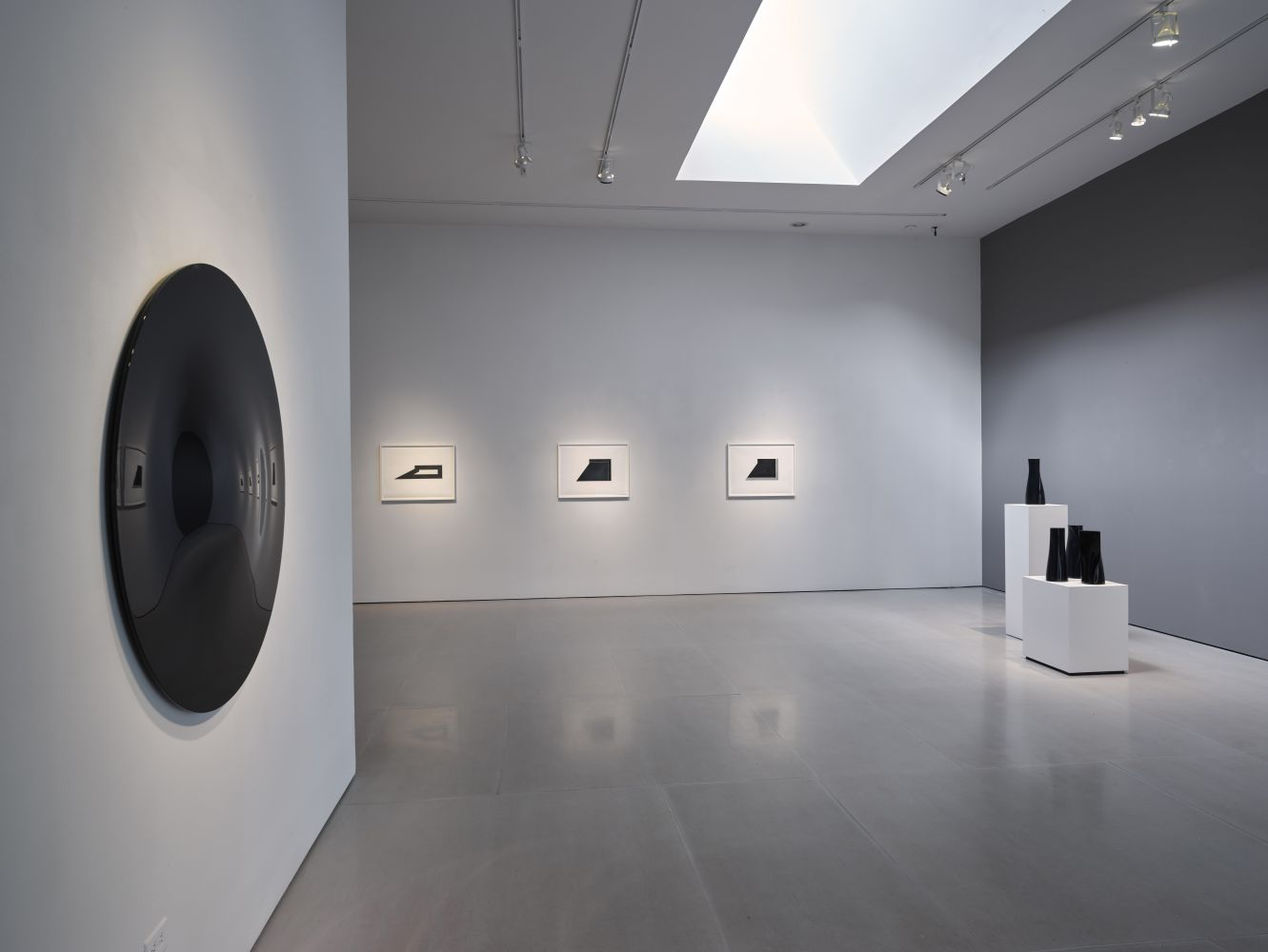 Installation view of Definition; looking to the east
