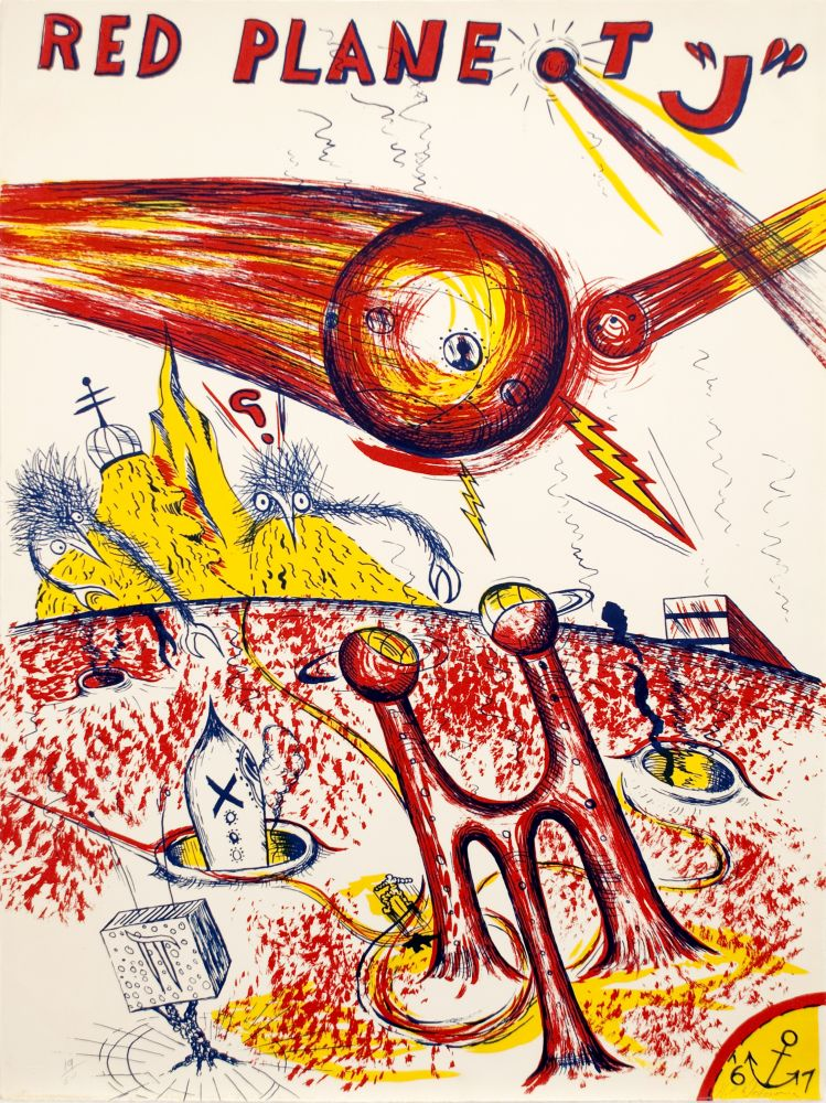 H. C. Westermann Red Planet J, 1967