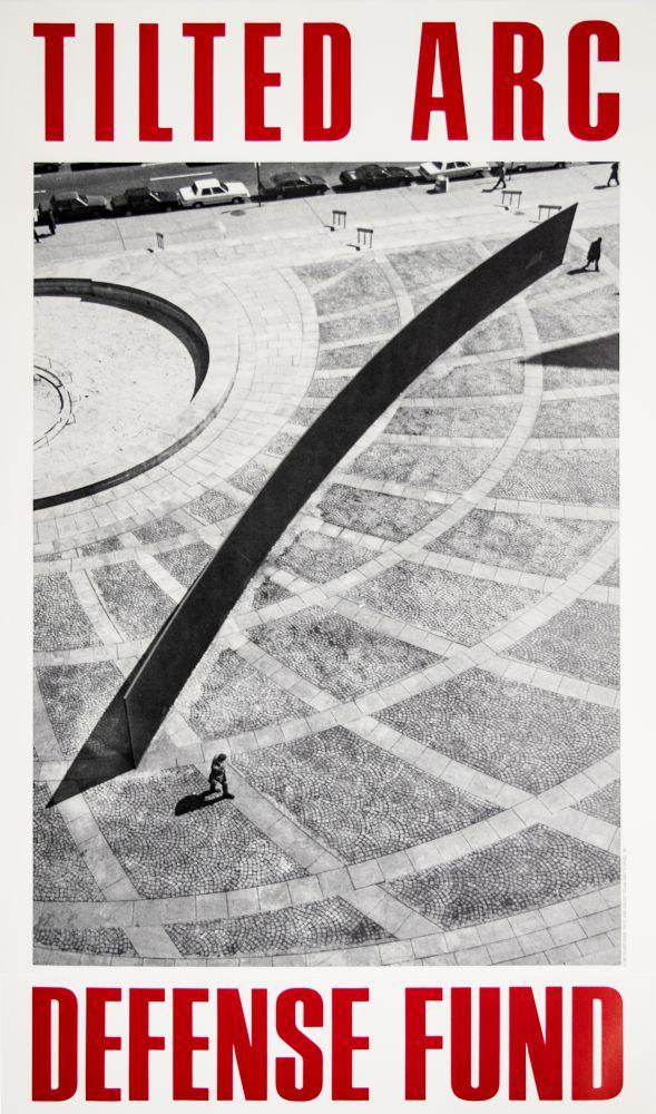 Richard Serra Tilted Arch Defense Fund