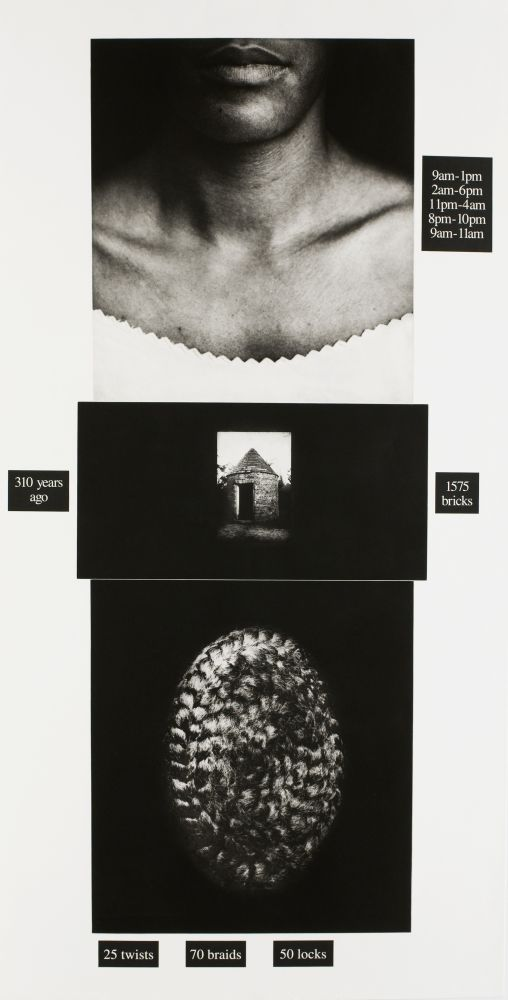 Lorna Simpson Counting, 1991
