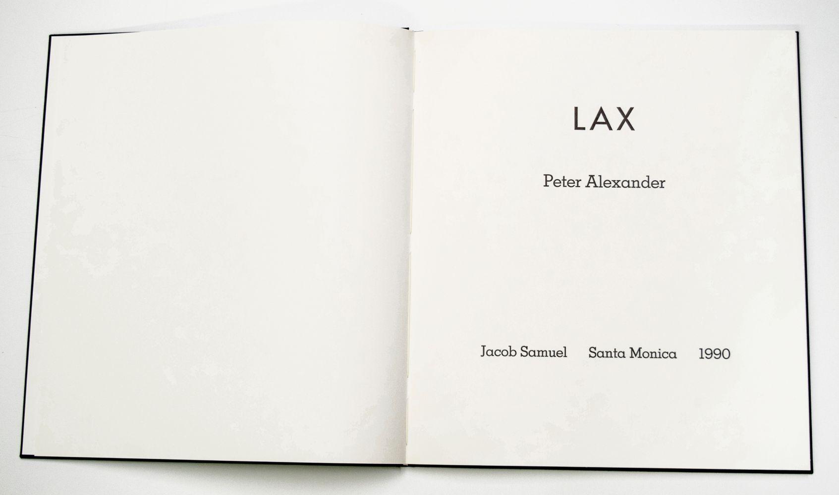 Peter Alexander LAX, 1990