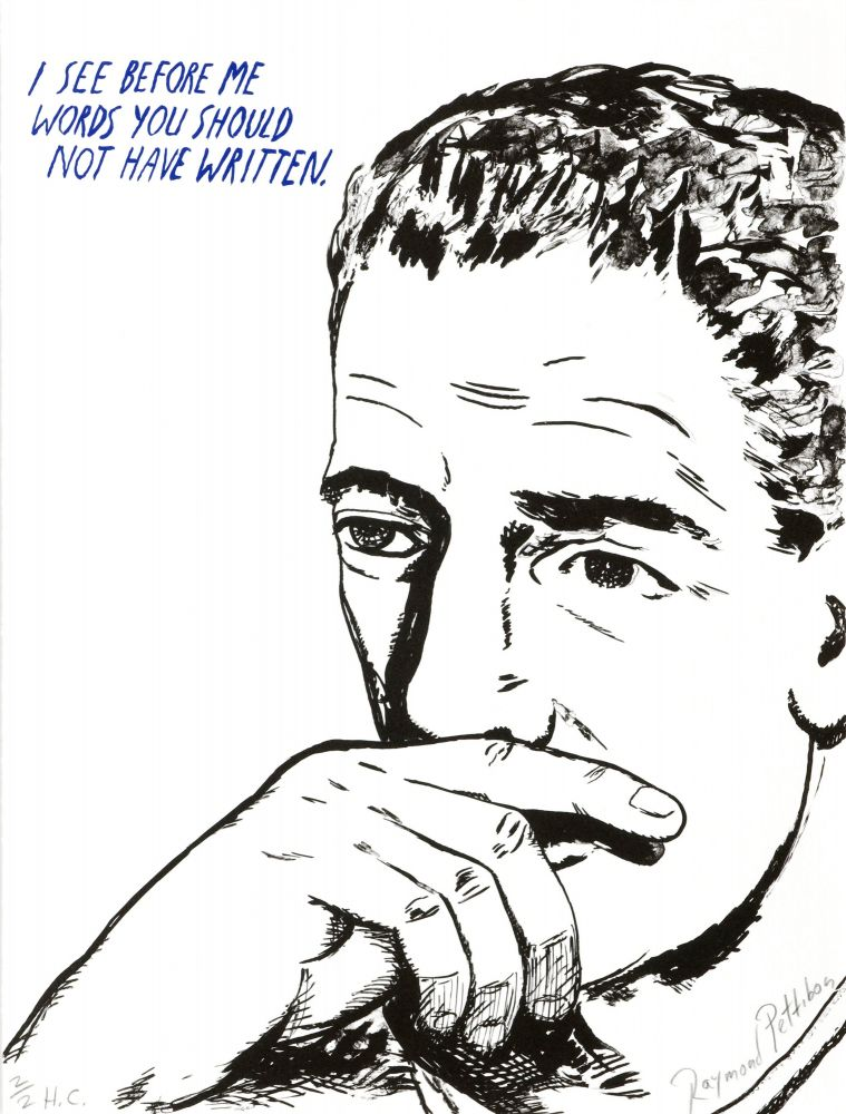 Raymond Pettibon: Untitled (I see before me...)