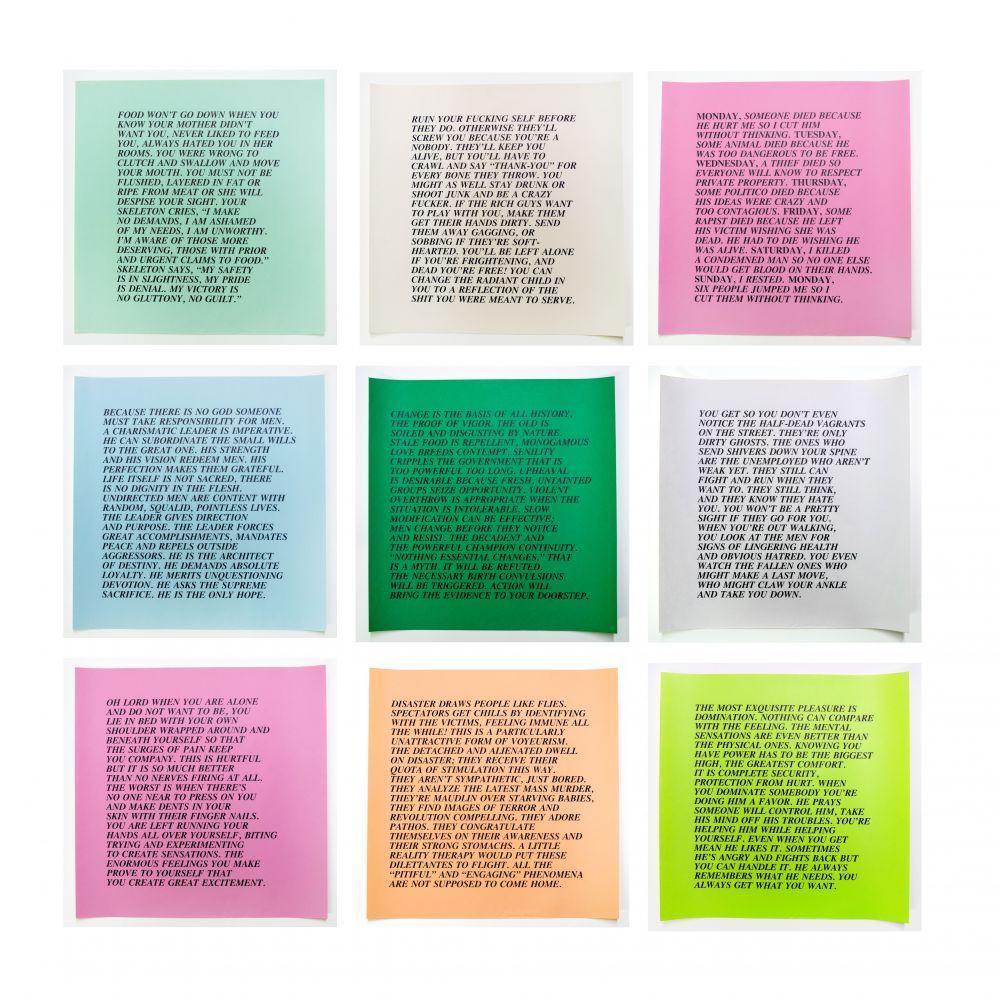 Jenny Holzer  9 Inflammatory Essays, 1979-1982