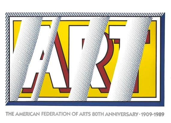 Roy Lichtenstein Reflections: Art, 1989