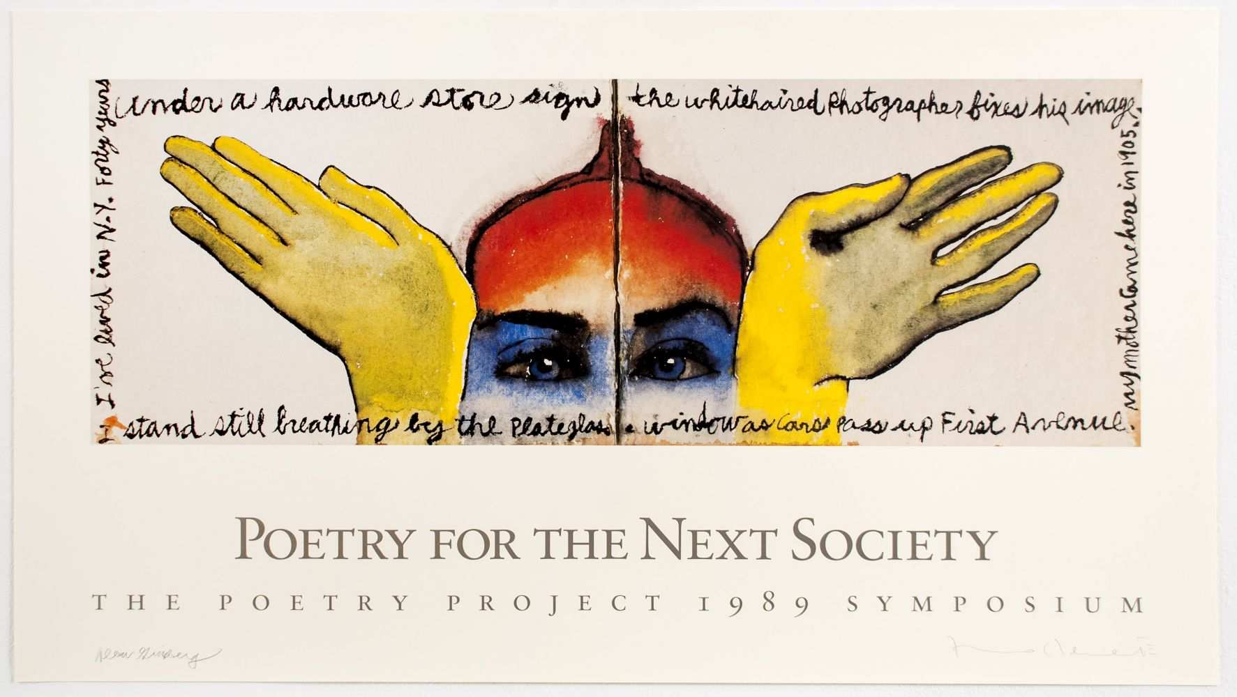 Clemente Poetry Project Poster