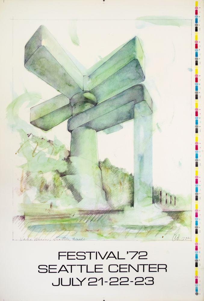 Claes Oldenburg Festival 72'