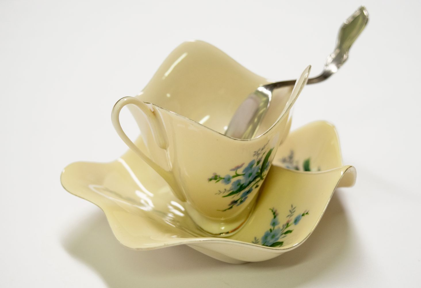 Robert Lazzarini Untitled (Teacup, Saucer, and Spoon)