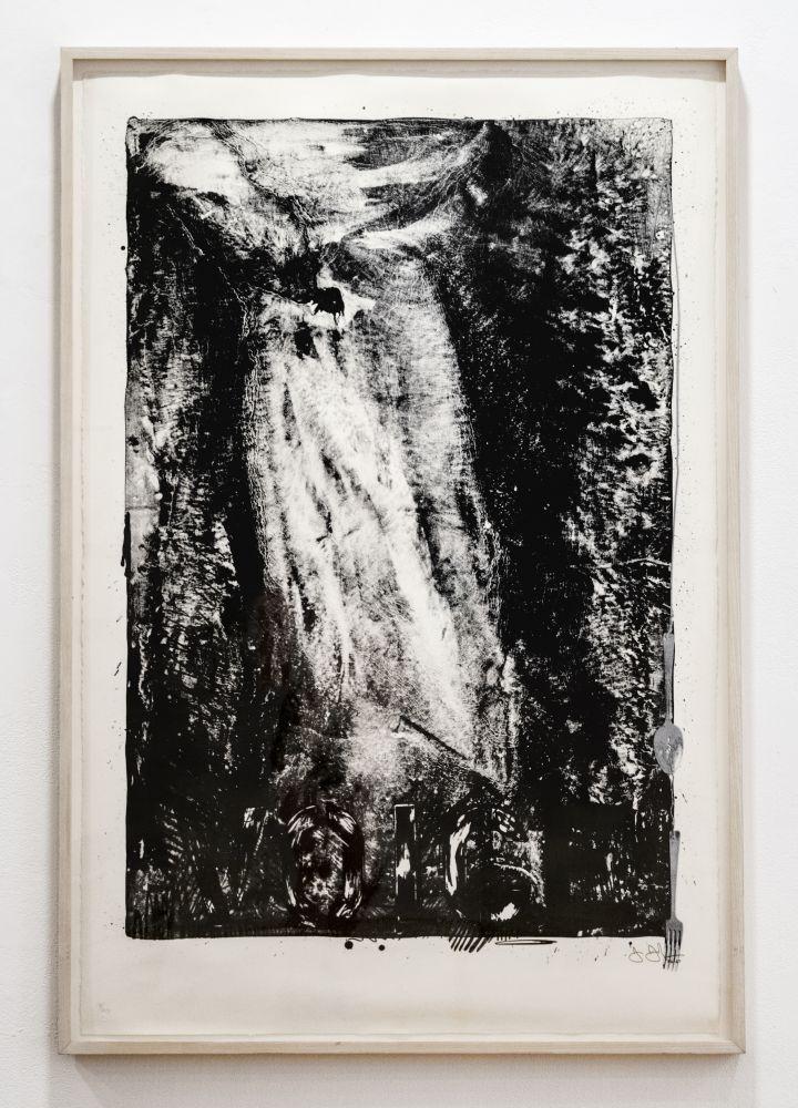 Jasper Johns Voice, 1966-67