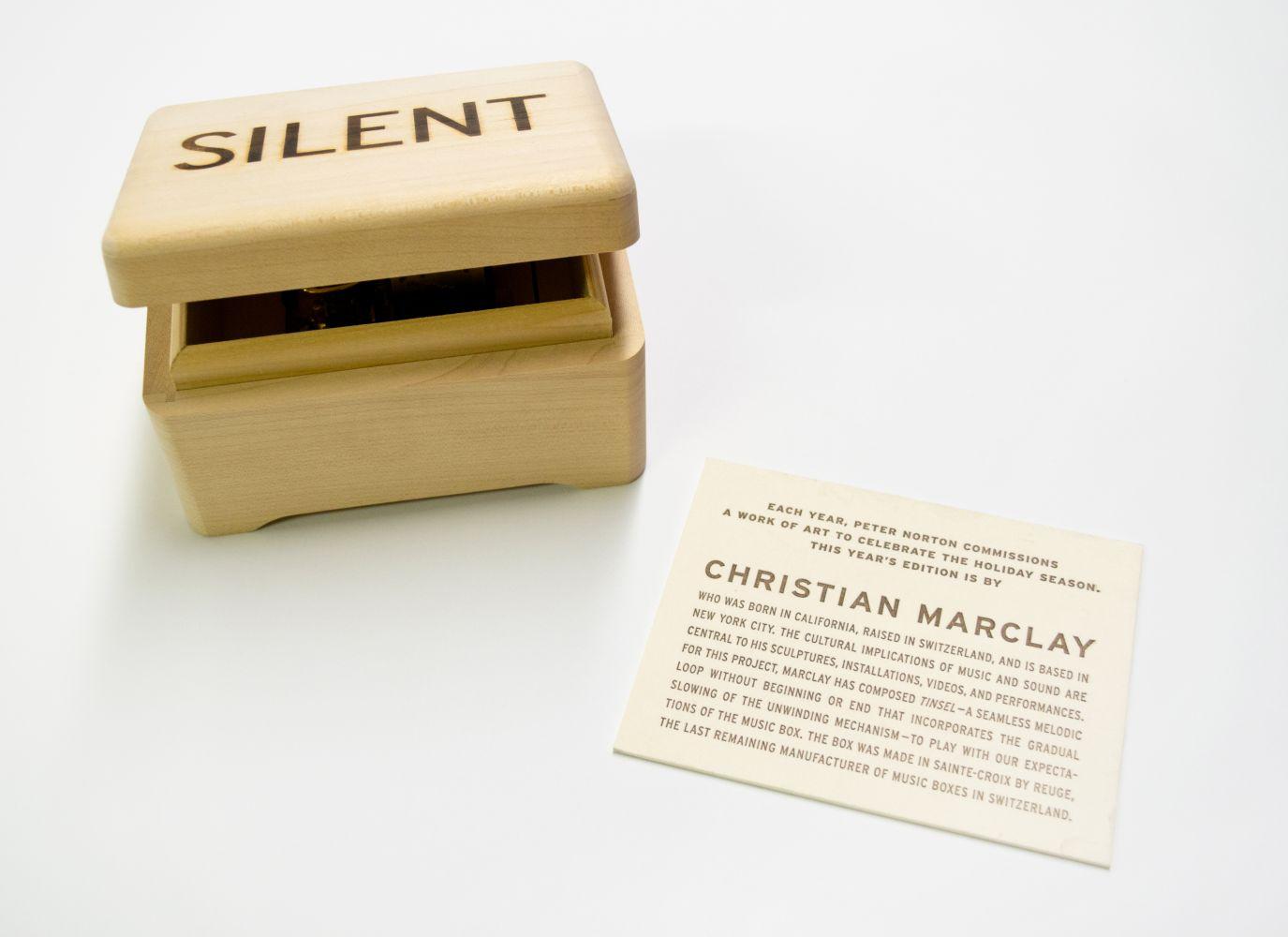 Christian Marclay Untitled (Music Box)