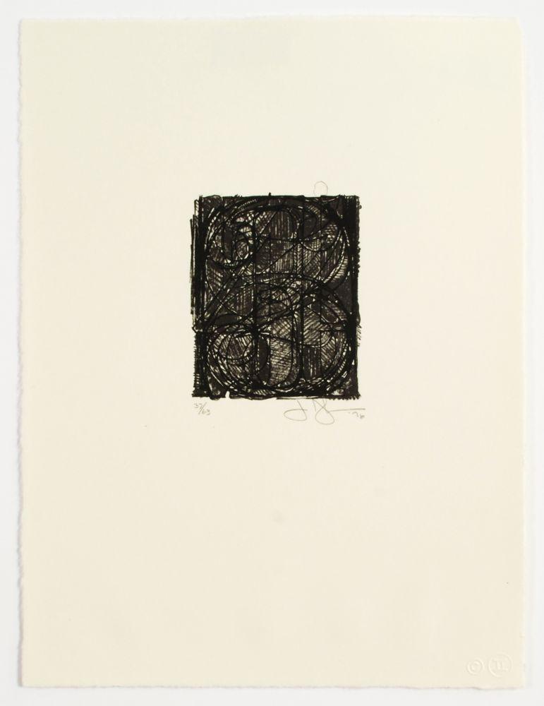 Jasper Johns 0 Through 9, 1977