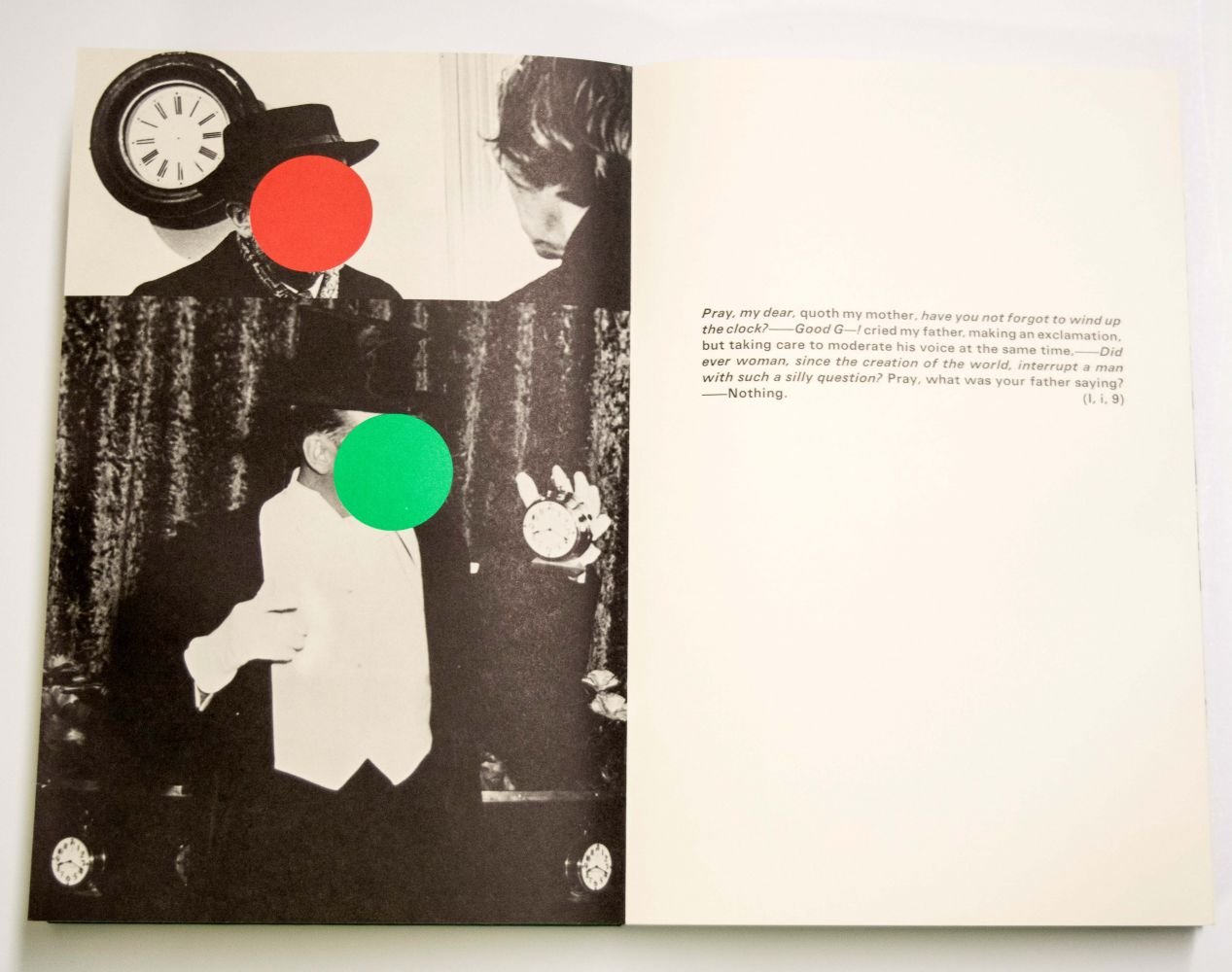 John Baldessari The Life and Opinions of Tristram Shandy