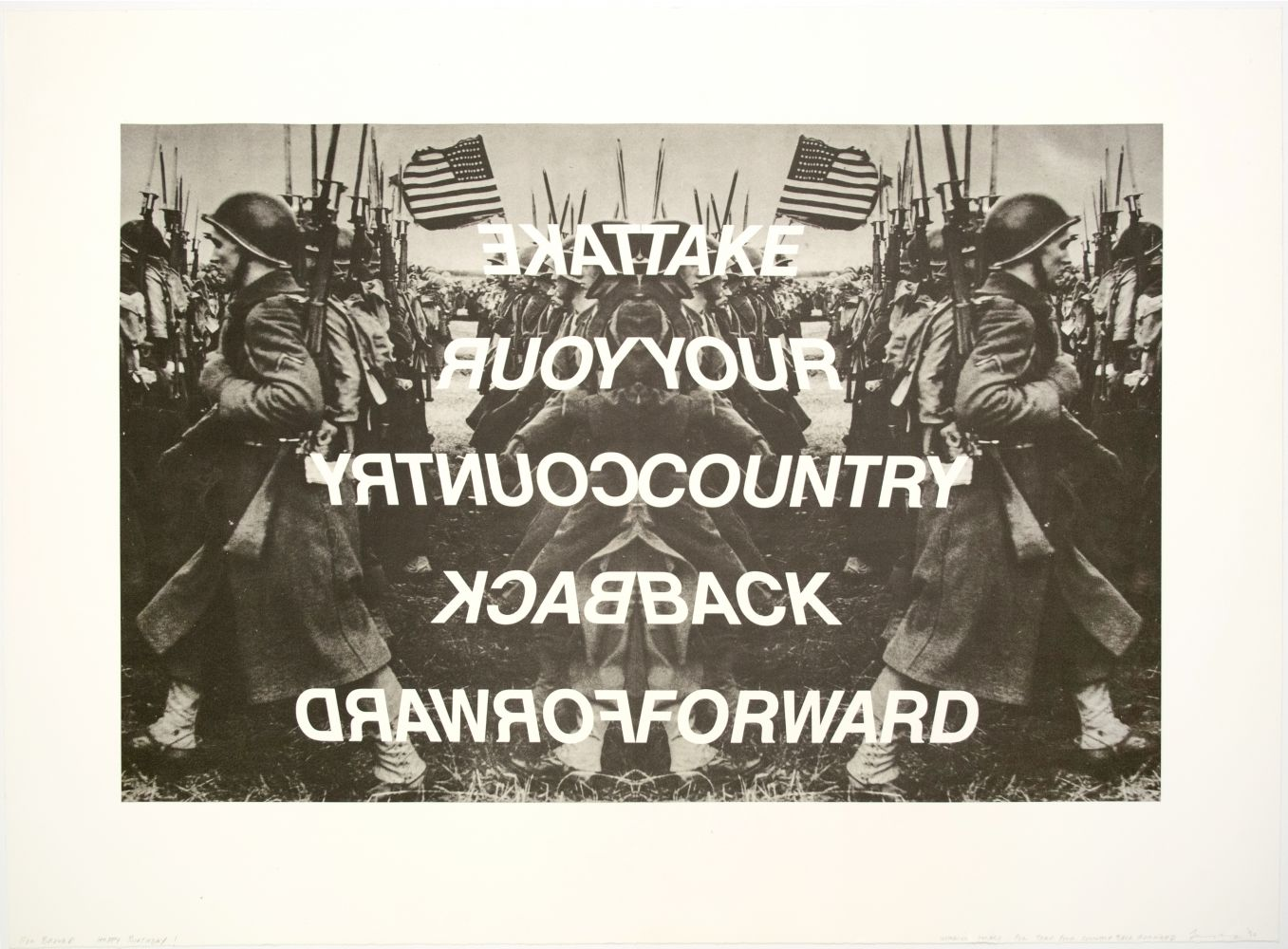 Annette Lemieux: Take Your Country Back Forward, 1990