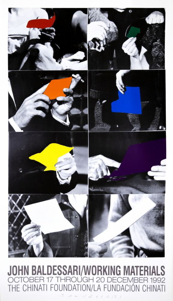 John Baldessari Working Materials