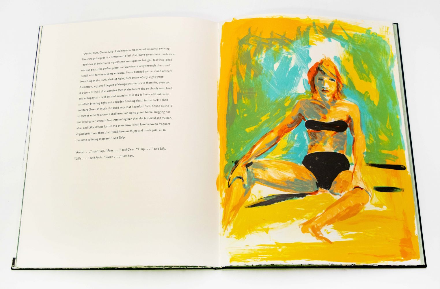 Eric Fischl and Jamaica Kincade Annie, Gwen, Lilly, Pam and Tulip, 1968