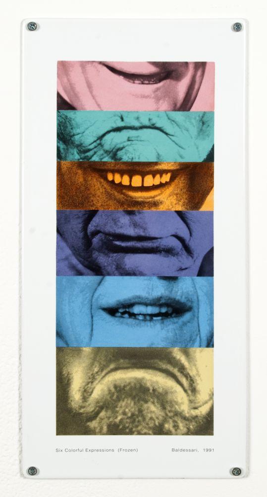 John Baldessari Six Colorful Expressions