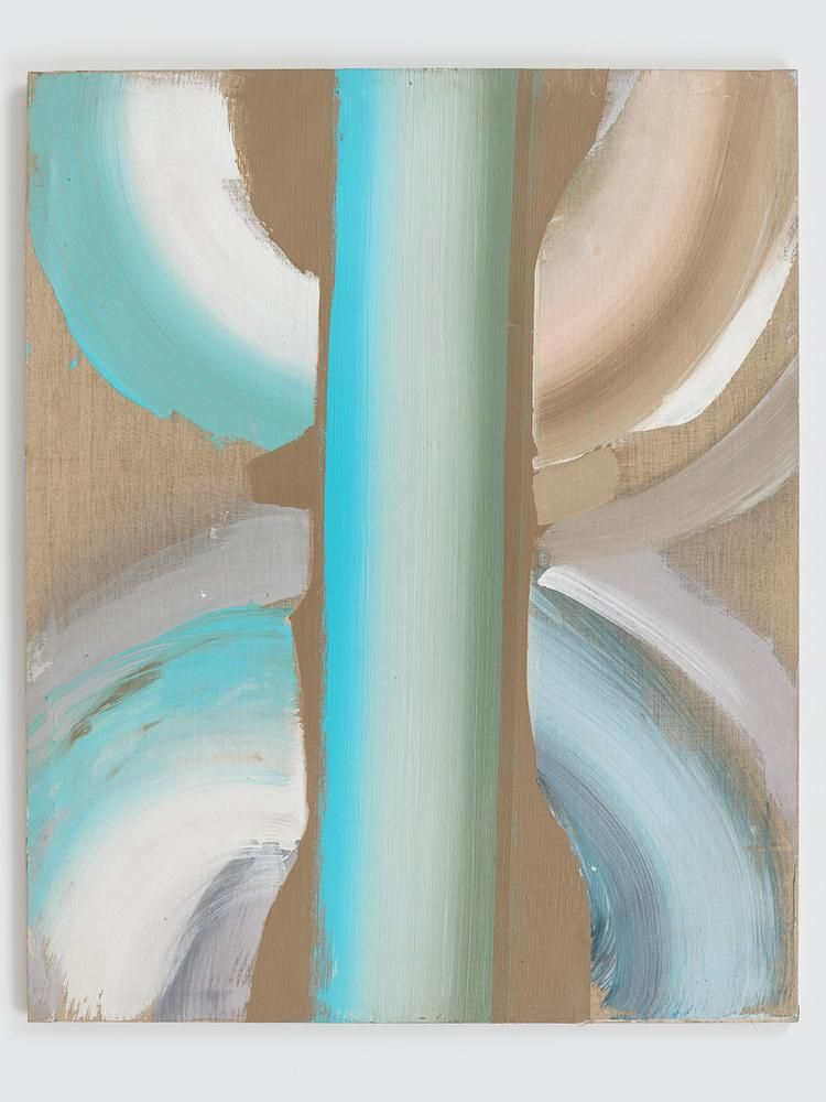 Ed Clark Untitled c. 1990s acrylic on unbleached canvas 50 5/8 x 62 1/8 inches (128.6 x 157.8 cm)