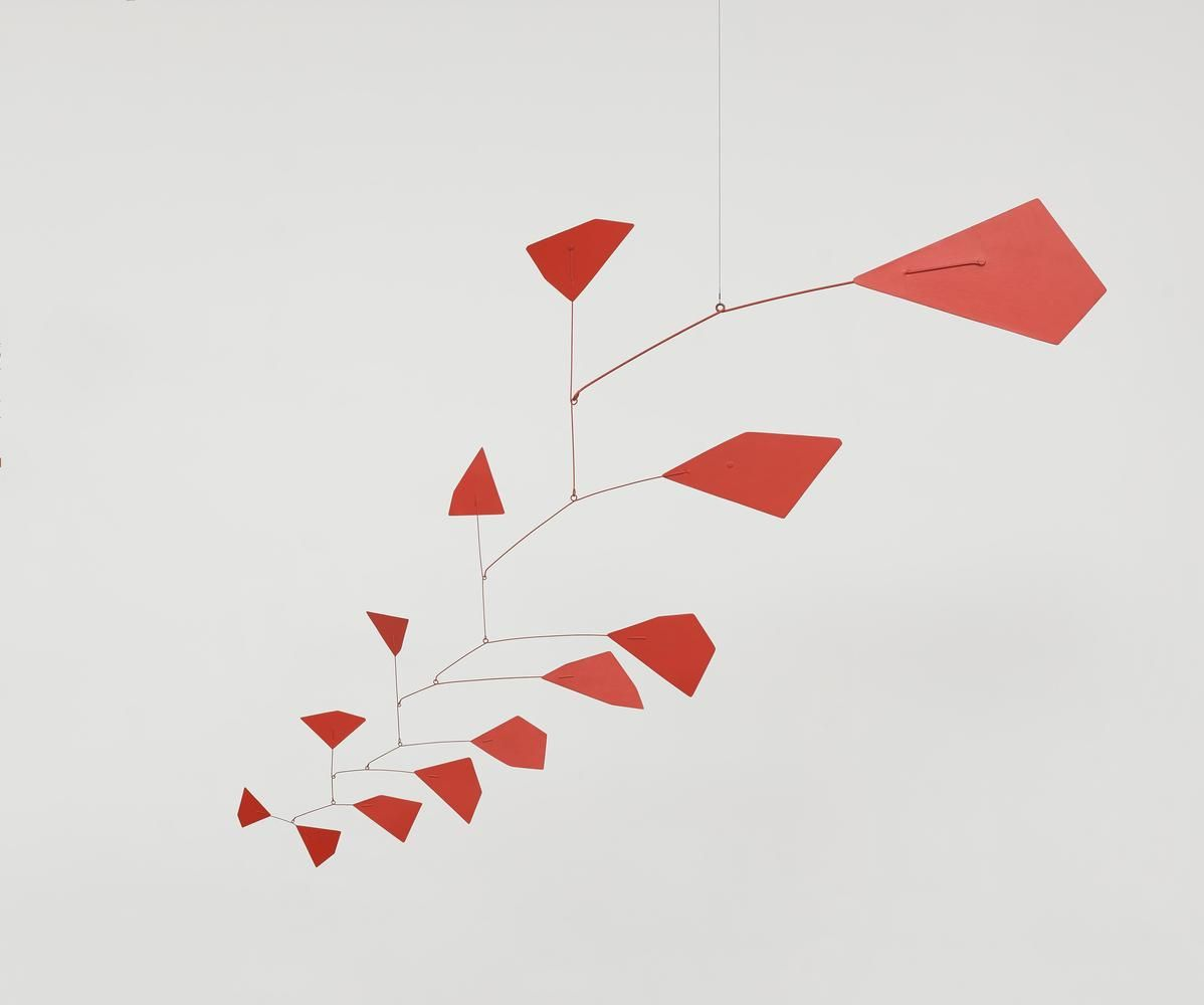 Alexander Calder Untitled c. 1952 sheet metal, wire, and paint 58 x 71 inches (147.3 x 180.3 cm)  Calder Foundation, New York