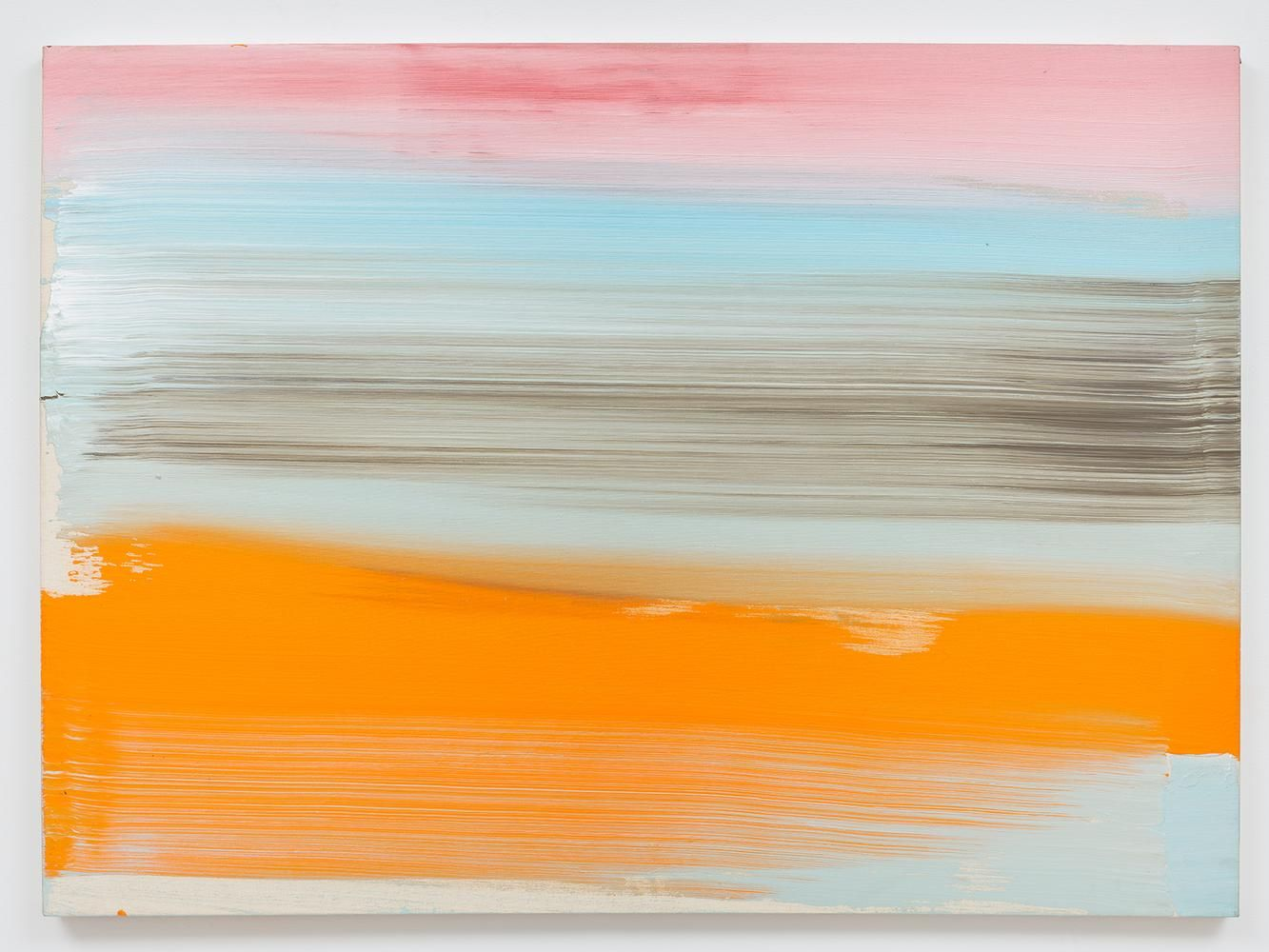 Ed Clark Untitled 2007 acrylic on canvas 44 x 60 1/4 inches (111.8 x 149.9 cm)