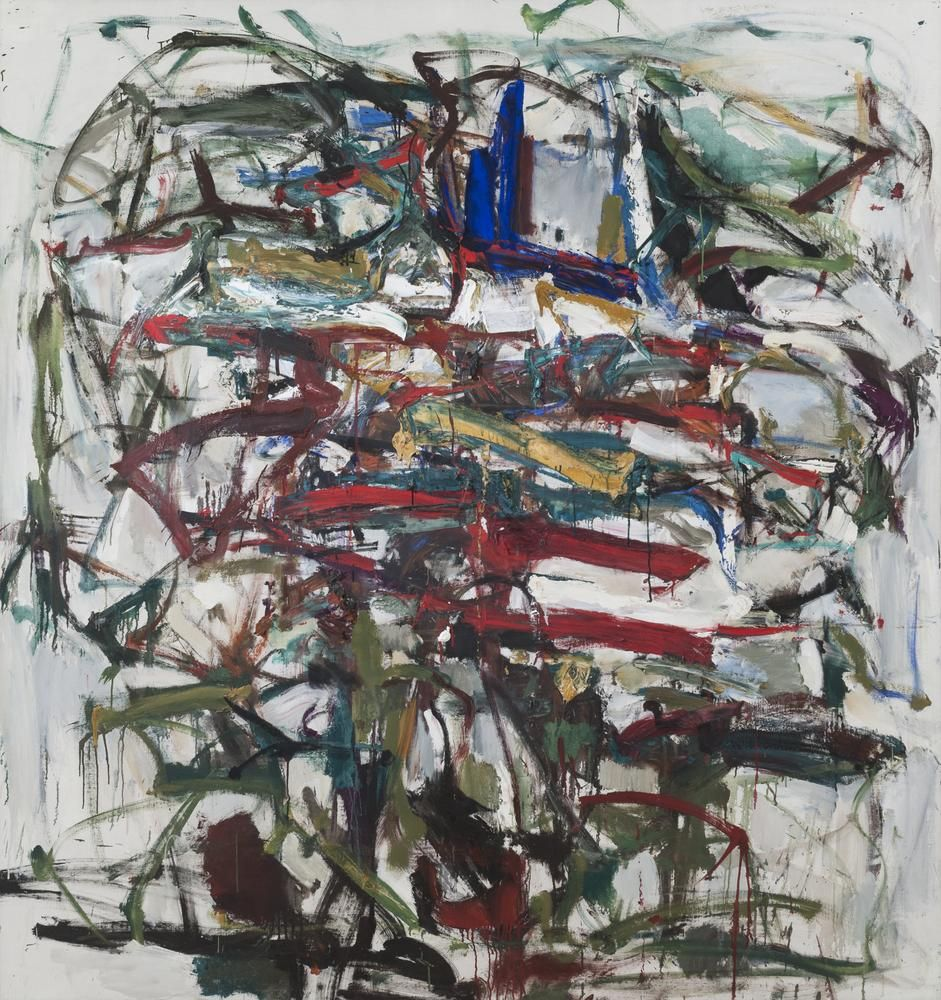 Joan Mitchell Untitled circa 1958 oil on canvas 75 x 71 inches (190.5 x 180.3 cm)