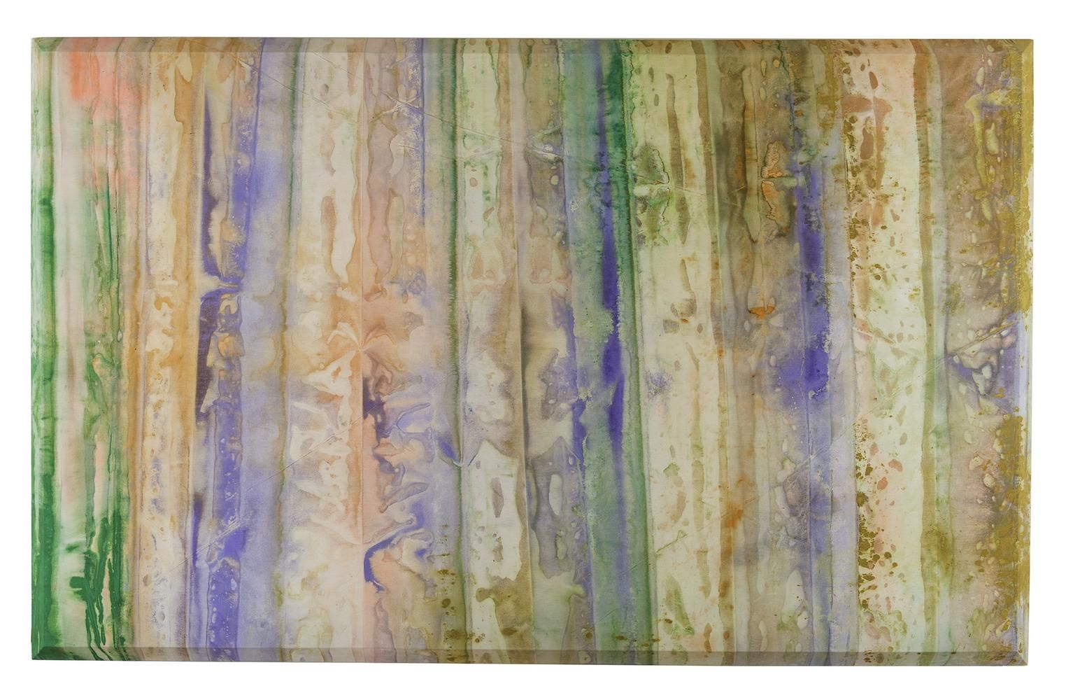 Sam Gilliam Atmosphere 1972 acrylic on canvas 92 x 144 inches (233.7 x 365.8 cm)