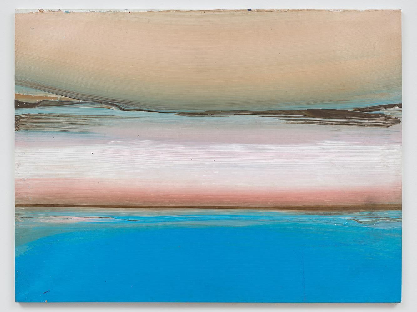 Ed Clark Untitled (Bahia Series) 1991 acrylic on canvas 38 x 50 inches (95.3 x 127 cm)