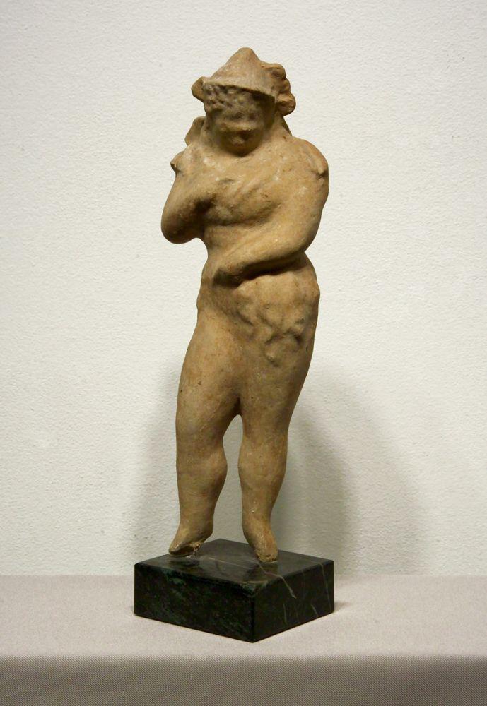 Elie Nadelman, Standing Woman, c. 1930-35, papier - mâché, 13 3/4 x 4 1/4 x 3 1/8 inches