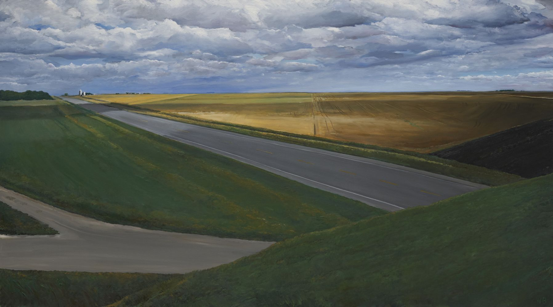 William Beckman Montana, 2020 oil on canvas 58 x 104 inches