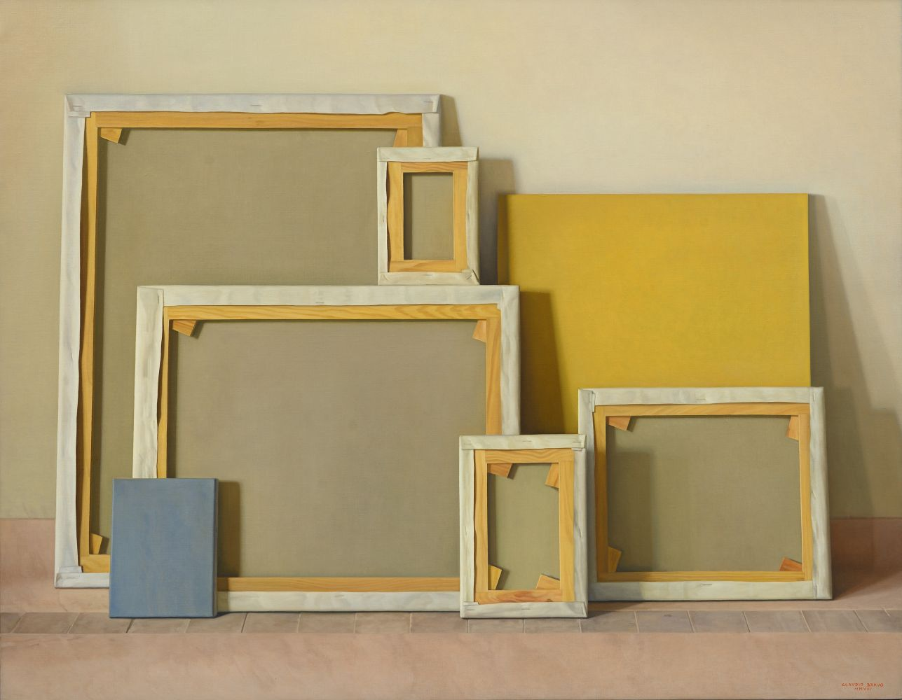 Stretchers, 2008, oil on canvas, 44 7/8 x 57 5/8 inches