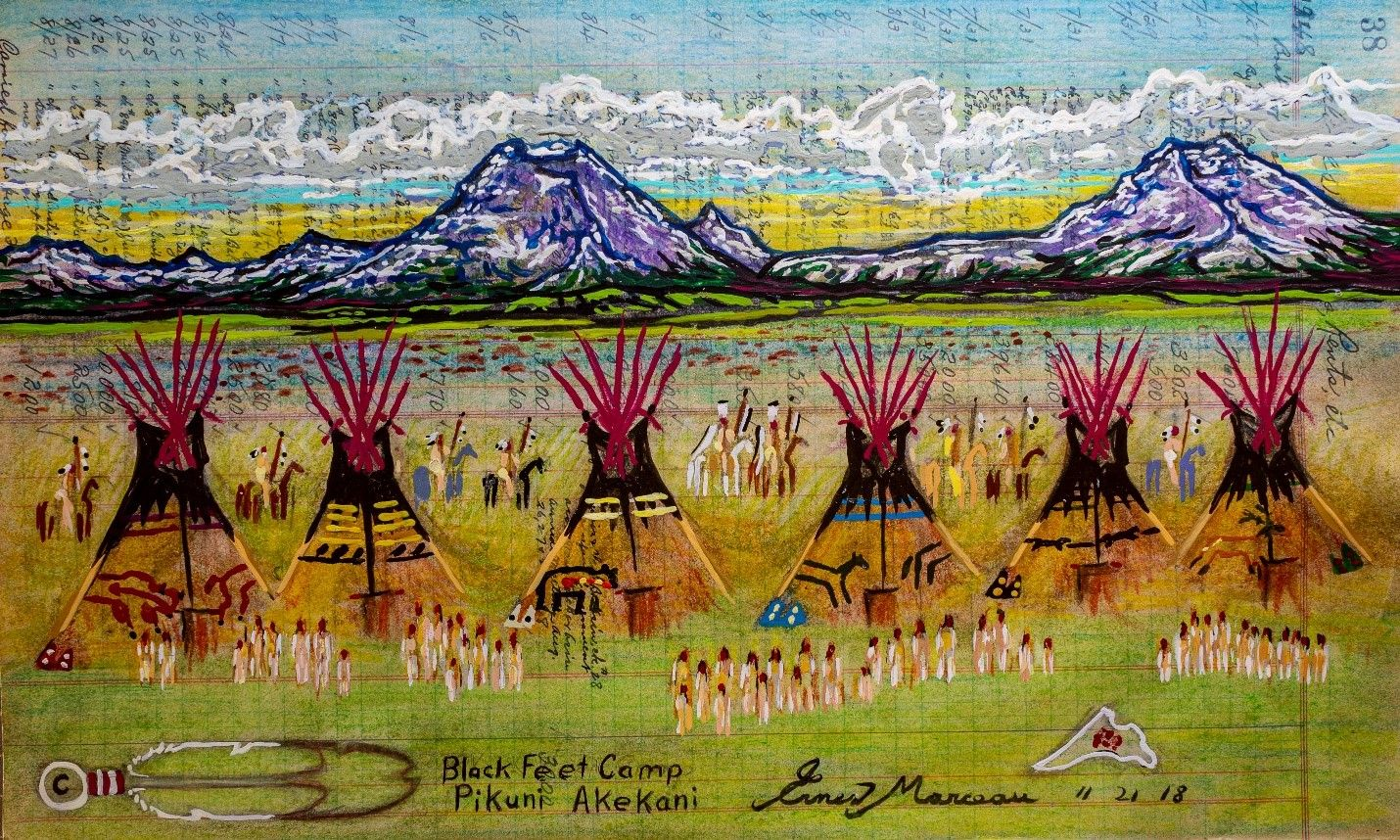 Blackfeet Camp – Pikuni Akekani