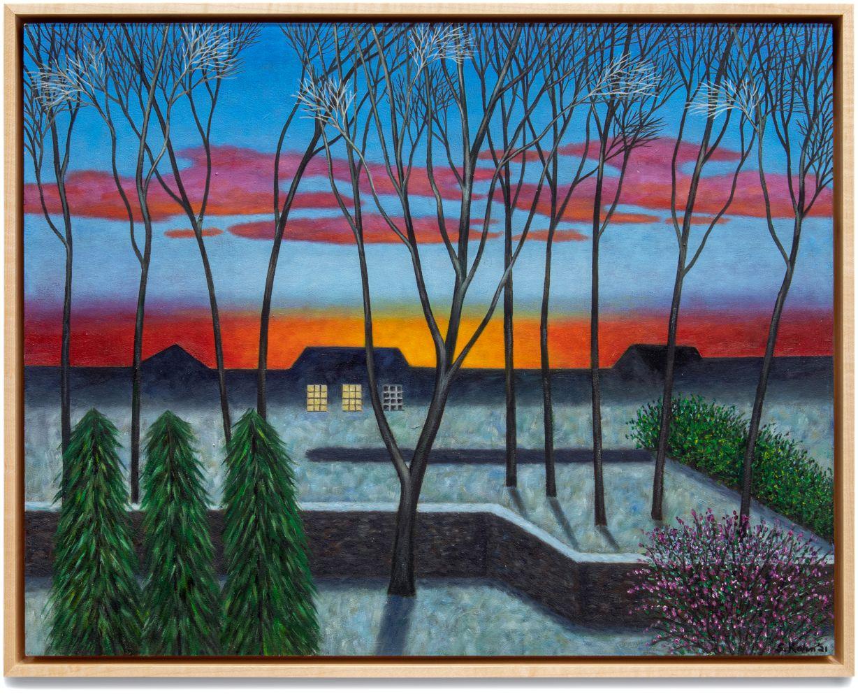 Scott Kahn, Winter Sunset, 2020