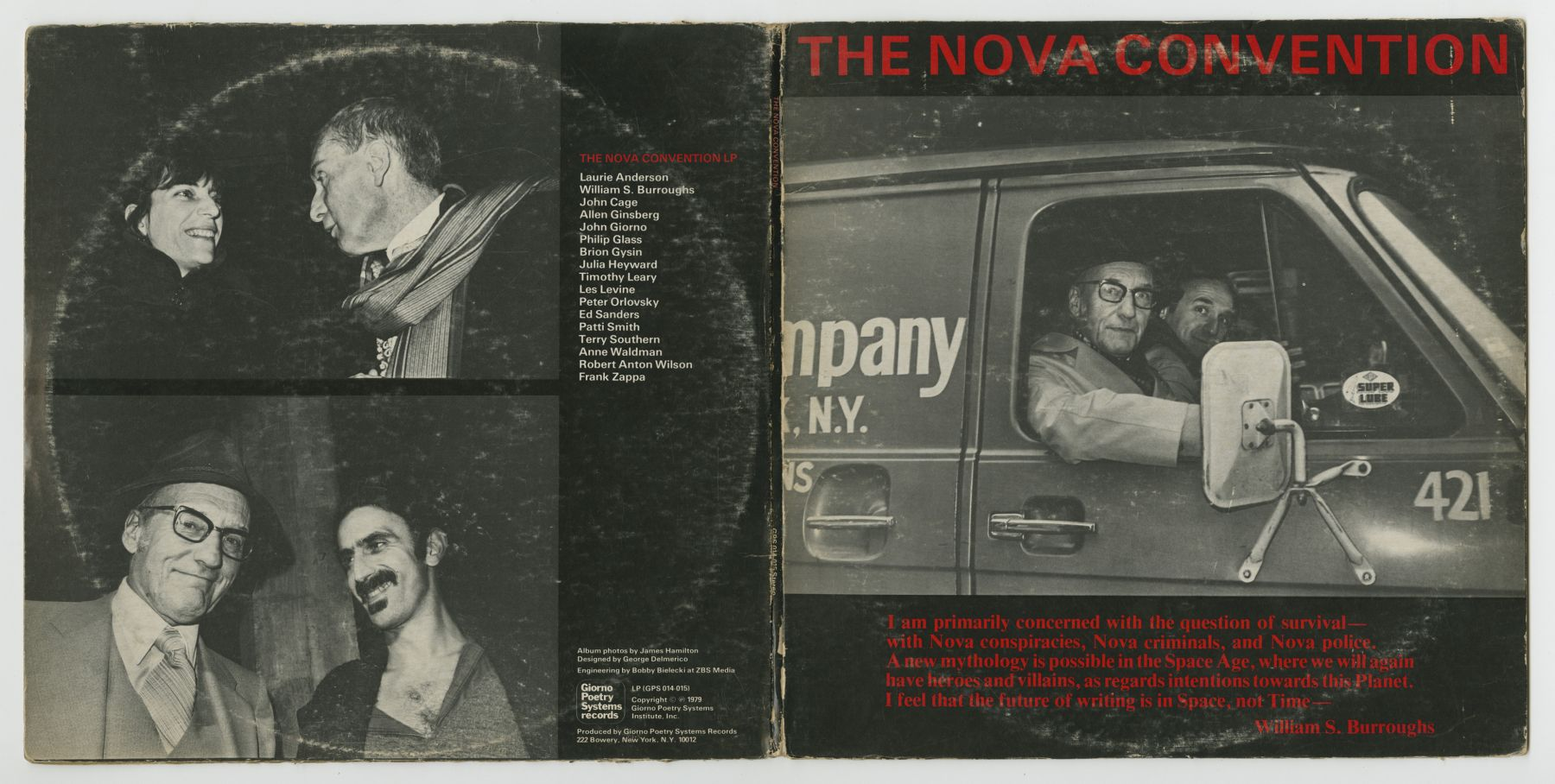 The Nova Convention (1979), front and back covers