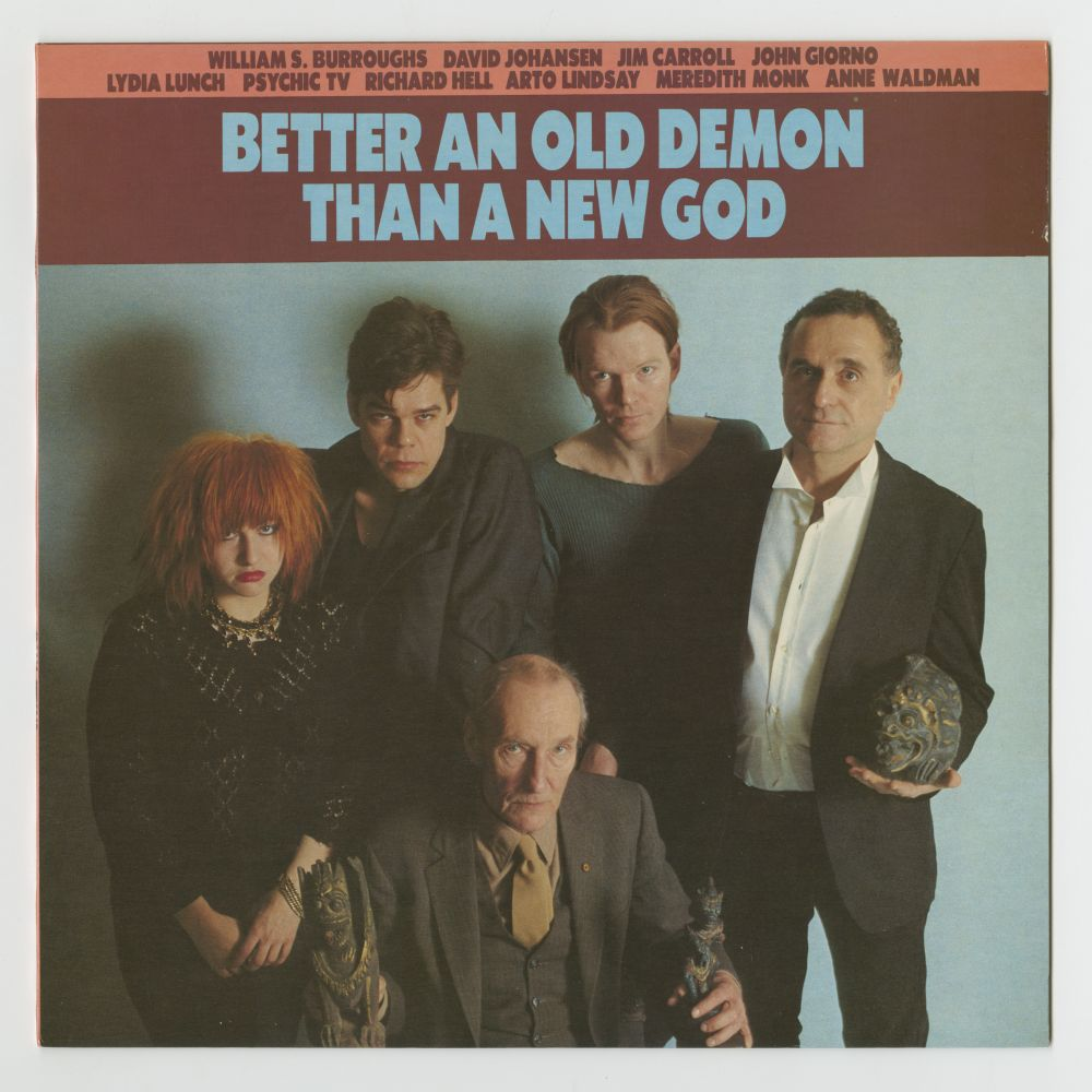Better An Old Demon Than A New God (1984), front cover